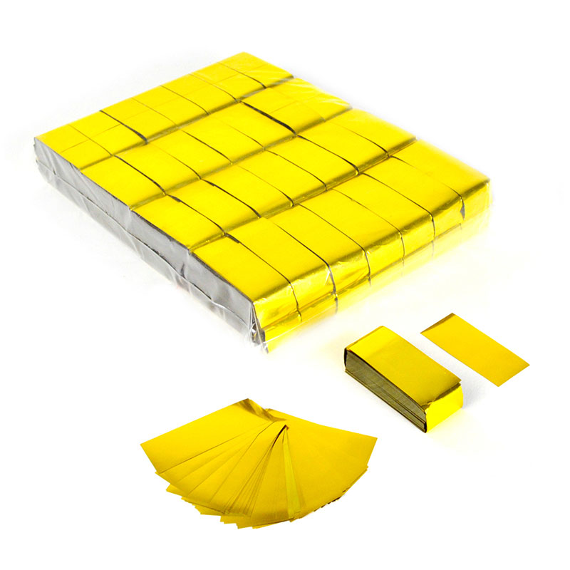 Rectangular Metallic confetti