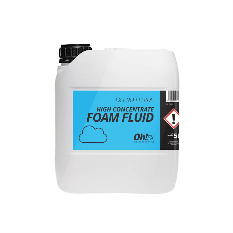 HIGH CONCENTRATED FOAM FLUID  5L