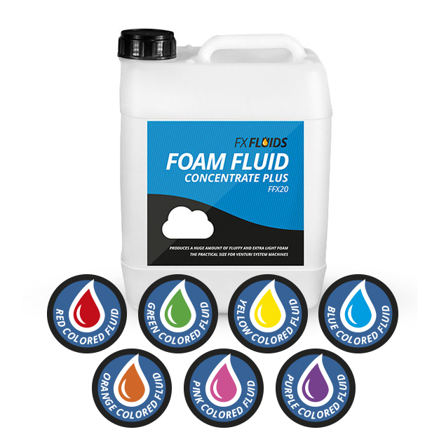 COLORED FOAM FLUID CONCENTRATE PLUS 5L
