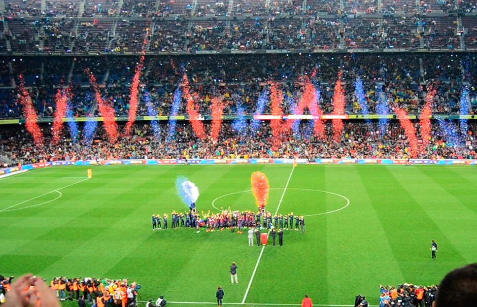 2013 FC Barcelona League Celebration