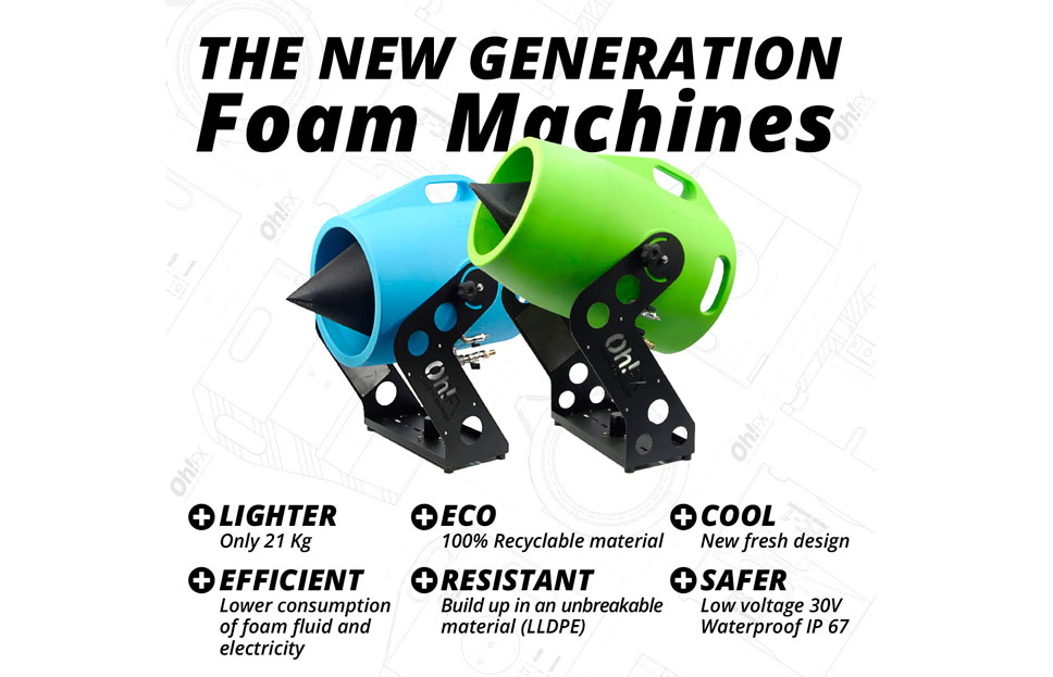 THE NEW GENERATION OF FOAM MACHINE