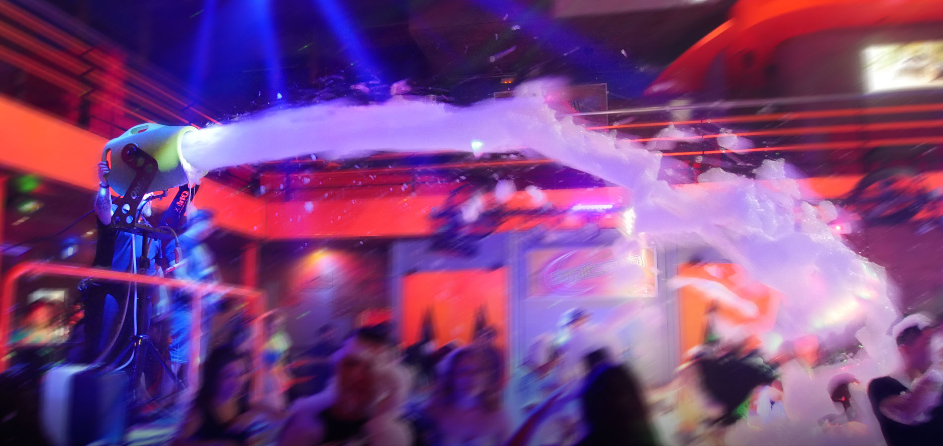 FOAM CANNONS FOR A FANTASTIC PARTY